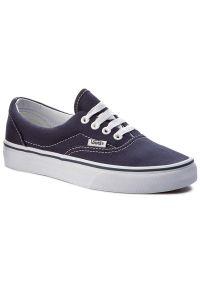Niebieskie buty sportowe Vans z cholewką, Vans Era, na co dzień