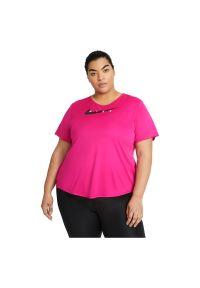 Koszulka damska do biegania Nike Swoosh Run CZ9278. Materiał: materiał, dzianina, poliester. Technologia: Dri-Fit (Nike). Sport: bieganie