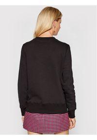 Versace Jeans Couture Bluza Logo Rubber 71HAIF01 Czarny Regular Fit. Typ kołnierza: kołnierzyk włoski. Kolor: czarny