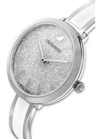 Swarovski - Zegarek CRYSTALLINE DELIGHT. Kolor: biały. Materiał: materiał