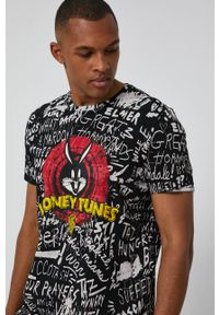 medicine - Medicine - T-shirt Licence Mix. Okazja: na co dzień. Kolor: czarny. Wzór: nadruk. Styl: casual