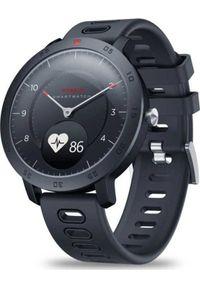 Czarny zegarek Roneberg smartwatch