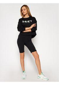 Czarna bluza DKNY Sport sportowa