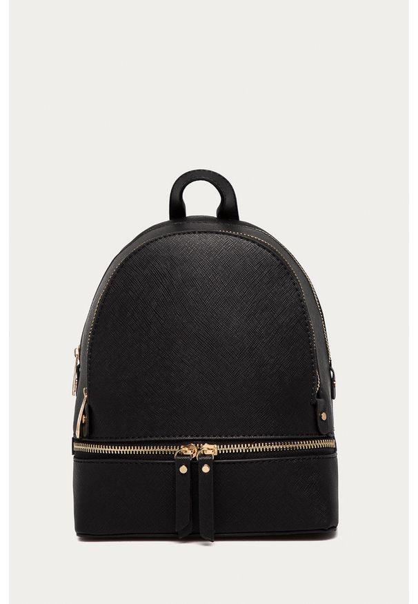 Czarny plecak Answear Lab wakacyjny, gładki