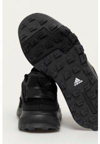 adidas Performance - Buty Terrex Hikster. Nosek buta: okrągły. Zapięcie: sznurówki. Kolor: czarny. Materiał: guma