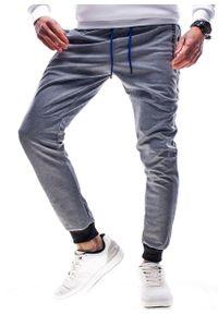 Szare spodnie dresowe Recea trekkingowe