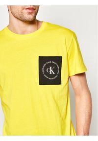 Żółty t-shirt Calvin Klein Jeans #5