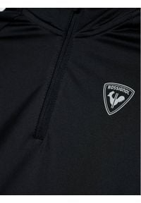 Rossignol Bluza techniczna 1/2 Zip Warm RLIYL04 Czarny Regular Fit. Kolor: czarny