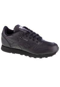 Czarne buty sportowe Reebok z cholewką, w kolorowe wzory