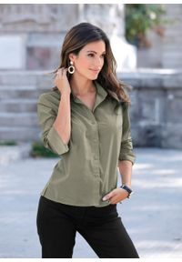 Zielona koszula bonprix