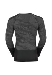 Bielizna Odlo Performance Black Shirt M 187082. Materiał: skóra. Długość rękawa: długi rękaw. Długość: długie