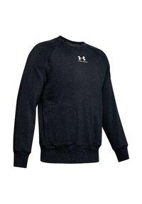 Bluza męska Under Armour Speckled Fleece Crew 1352018. Materiał: bawełna, materiał, syntetyk, włókno, poliester. Długość rękawa: raglanowy rękaw