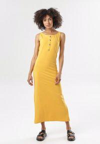 Żółta sukienka Born2be
