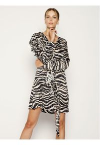 Just Cavalli Sukienka letnia S04CT0925 Kolorowy Regular Fit. Wzór: kolorowy. Sezon: lato