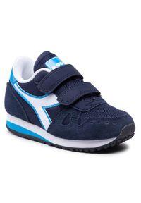 Diadora Sneakersy Simple Run Ps 101.174383 01 C2592 Granatowy. Kolor: niebieski. Sport: bieganie