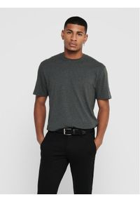 Only & Sons - ONLY & SONS T-Shirt Dion 22017727 Zielony Regular Fit. Kolor: zielony