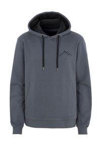 Szary sweter Cellbes klasyczny, z dekoltem woda, z haftami