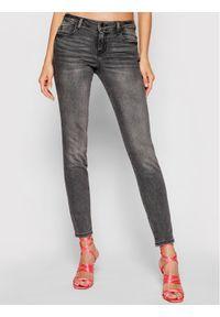 Guess Jeansy Curve X W1YAJ2 D4F52 Czarny Shaping Fit. Kolor: czarny