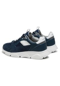 Iceberg Sneakersy NIU1411A Granatowy. Kolor: niebieski