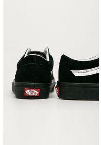 Vans - Tenisówki skórzane. Nosek buta: okrągły. Zapięcie: sznurówki. Kolor: czarny. Materiał: skóra. Szerokość cholewki: normalna. Obcas: na obcasie. Wysokość obcasa: niski #3