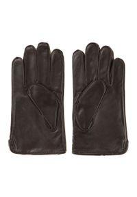Brązowe rękawiczki Wittchen klasyczne