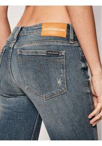 Niebieskie jeansy slim Calvin Klein Jeans