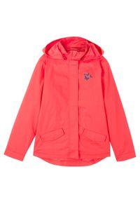 Czerwony płaszcz bonprix na lato, z nadrukiem