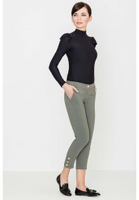 Oliwkowe spodnie Katrus