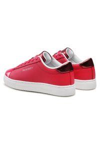 Trussardi Jeans - Sneakersy TRUSSARDI - 79A00680 P200. Okazja: na co dzień, na spacer. Kolor: różowy. Materiał: skóra ekologiczna, materiał. Szerokość cholewki: normalna. Sezon: lato. Styl: casual