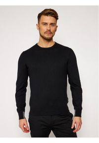 Musto Sweter Portofino 82052 Czarny Regular Fit. Kolor: czarny