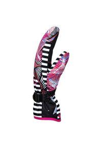 Rękawice snowboardowe/narciarskie Roxy Jetty Mitten Solid ERJHN03144. Materiał: poliester, syntetyk, materiał. Sport: narciarstwo, snowboard