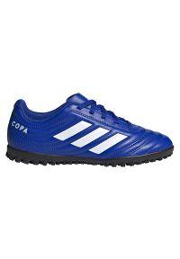 Adidas - Buty piłkarskie dla dzieci adidas Copa 20.4 TF EH0931. Okazja: na imprezę. Materiał: syntetyk, skóra. Szerokość cholewki: normalna. Sezon: lato. Sport: piłka nożna