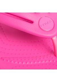 Crocs - Japonki CROCS - Crocband Flip W 206100 Electric Pink. Kolor: różowy. Materiał: materiał