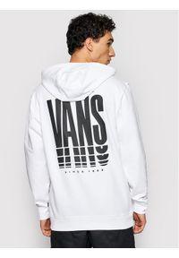 Vans Bluza Reflect VN0A54AO Biały Regular Fit. Kolor: biały