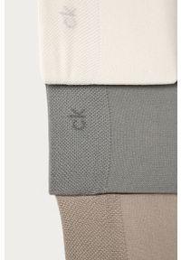 Beżowe skarpetki Calvin Klein