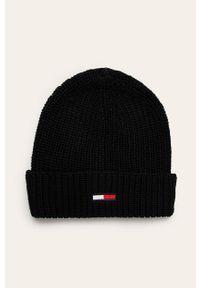 Czarna czapka Tommy Jeans