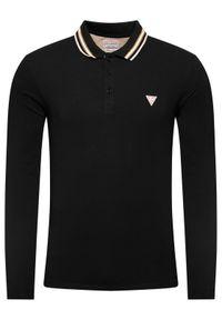 Czarna koszulka polo Guess polo
