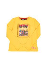 Żółta bluzka Desigual