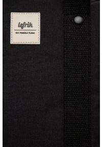 Lefrik - Plecak. Kolor: czarny. Materiał: poliester