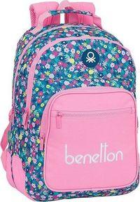 Różowy plecak Benetton