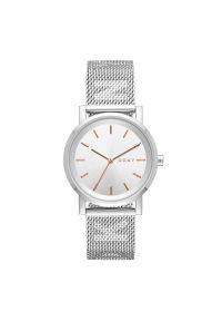 Srebrny zegarek DKNY