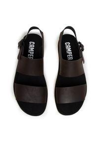 Brązowe sandały Camper na lato, klasyczne