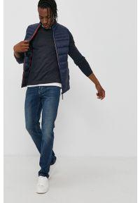 PRODUKT by Jack & Jones - Produkt by Jack & Jones - Bezrękawnik. Okazja: na co dzień. Kolor: niebieski. Materiał: tkanina. Długość rękawa: bez rękawów. Wzór: gładki. Styl: casual