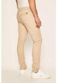 Beżowe spodnie Jack & Jones casualowe, na co dzień