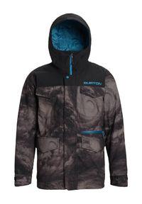 Szara kurtka sportowa Burton snowboardowa