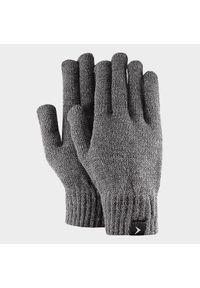 Szare rękawiczki sportowe outhorn melanż