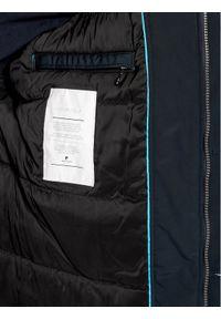 Niebieska kurtka puchowa Pierre Cardin
