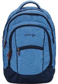 Niebieski plecak ROSA młodzieżowy