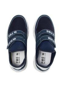 Primigi - Sneakersy PRIMIGI - 7386000 S Blu. Okazja: na co dzień. Zapięcie: rzepy. Kolor: niebieski. Materiał: skóra ekologiczna, materiał. Szerokość cholewki: normalna. Styl: casual