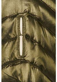 Zielona kurtka Bomboogie casualowa, z kapturem, na co dzień